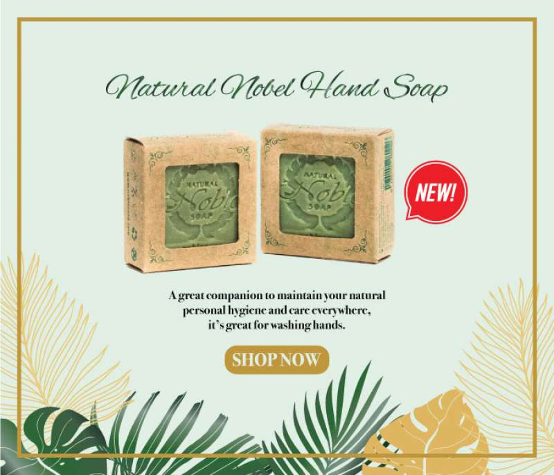 Natural Nobel Hand Soap