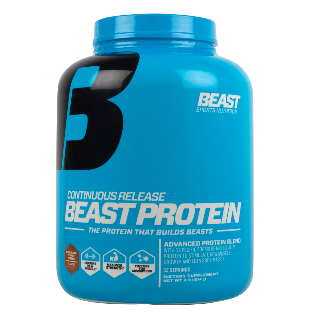 16304596 Continuous Release' Beast Protein. By: Beast Sports Nutrition
